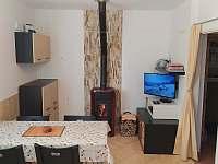 obývací část - apartmán ubytování Borová Lada