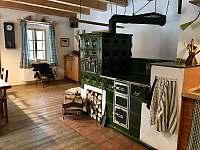 Kuchyně 2 - chalupa ubytování Borová Lada