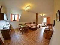Čtyřlůžkový apartmán - chalupa ubytování Kvilda