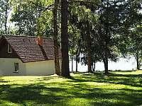 Chaty na břehu Lipna - k pronájmu Lojzovy Paseky - Frymburk