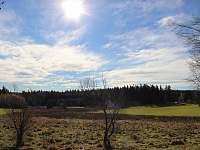 výhled z terasy - Černá v Pošumaví - Muckov