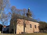 kostel v Srní - apartmán k pronájmu