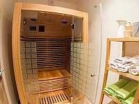 Sauna v apartmánu H7