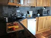Apartmán 1 - Kuchyně - k pronajmutí Nová Pec - Pěkná