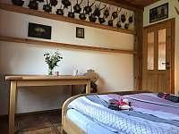 Apartmán 1 - Ložnice A - k pronájmu Nová Pec - Pěkná