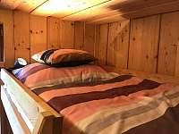 Apartmán 1 - Ložnice B (horní dvoulůžko) - Nová Pec - Pěkná