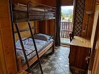 Apartmán 2 - 3. ložnice (2x jednolůžko) - Nová Pec - Pěkná
