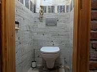 Apartmán 2 - toaleta - Nová Pec - Pěkná