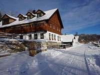 Zima u hotelu 930m/m - Stožec - České Žleby
