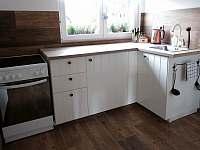 Kuchyně 1 - pronájem chalupy Pasečná