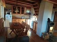 kuchyně - chata k pronájmu Horní Planá