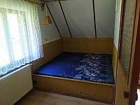 menší ložnice - pronájem chaty Horní Planá
