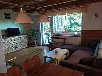 obývací pokoj - chata ubytování Horní Planá
