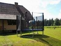 Trampolína o průměru 3 m. - chata k pronajmutí Posudov