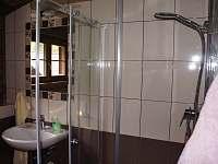 Koupelna s WC apartmánu 2 v podkroví - Stachy - Kůsov