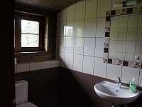 Koupelna s WC apartmánu 3 v podkroví - Stachy - Kůsov