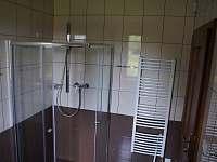 Koupelna s WC apartmánu v přízemí - chalupa k pronájmu Stachy - Kůsov