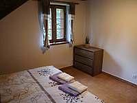 Ložnice apartmánu 2 v podkroví