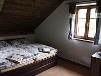 Ložnice apartmánu 3 v podkroví