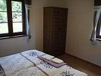 Ložnice apartmánu v přízemí