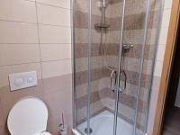 Chata Rozhlas, Apartmán č. 2, koupelna - Železná Ruda - Špičák