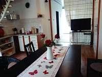 jídelna - rekreační dům k pronajmutí Volary