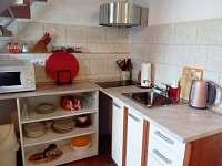 kuchyňský kout - pronájem rekreačního domu Volary