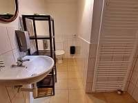 koupelna přízemí - pronájem chalupy Chlum