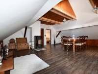 obývací pokoj + kuchyň - Chlum