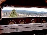 výhled z terasy - Chlum