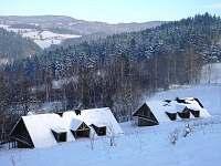 Vila na horách - dovolená Lom Čimické jezírko rekreace Annín