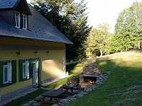 Zahrada a venkovní krb
