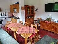 Společenská místnost - Soumarský Most - ubytování Volary