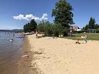 Krásná písečná pláž s pozvolným vstupem - Černá v Pošumaví - Radslav