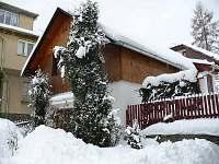 zimní foto domku