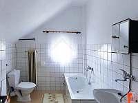 koupelna v každém apartmánu - Volary