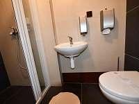 nové WC a sprcha - Volary