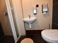 nové WC a sprcha