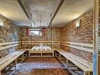 odpočívárna u sauny - pronájem apartmánu Volary