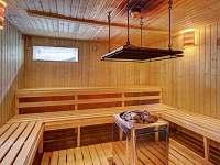 sauna v objektu - apartmán k pronájmu Volary
