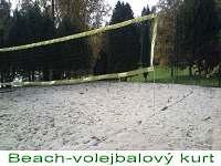 Beach-volejbalový kurt 400m