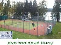 Moderní tenisové kurty 300m