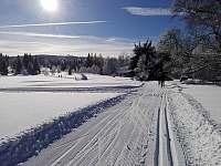 Chalupa v Pěkné - běžecká stopa z Nového Údolí -
