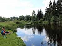 Chalupa v Pěkné - pohoda u řeky Vltavy -