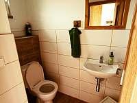 Chalupa v Pěkné - WC - k pronajmutí