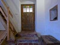 Předsíň a schody do podkroví
