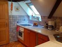 kuchynka - pronájem apartmánu Vřesná