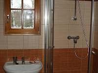 Koupená-sprchový kout - apartmán k pronajmutí Dobrá - Stožec