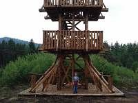 Vyhlídková věž-na naučné stezce u Soumarského mostu - pronájem apartmánu Dobrá - Stožec