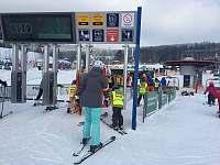 dolní stanice Ski areálu Kramolín Lipno